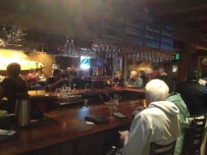 Wine bar at Half Moon Bay Brewing Company