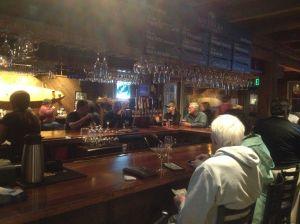 Wine bar at Half Moon Bay Brewing Company