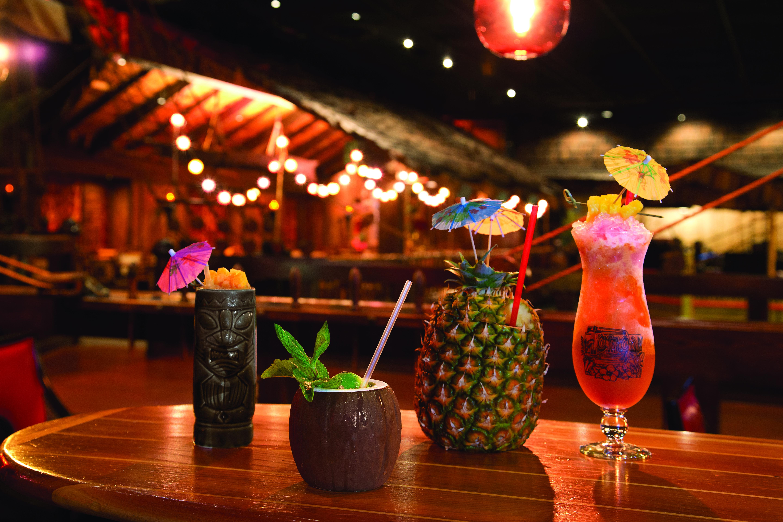 Tonga Room Hurricane Bar Cocktails II